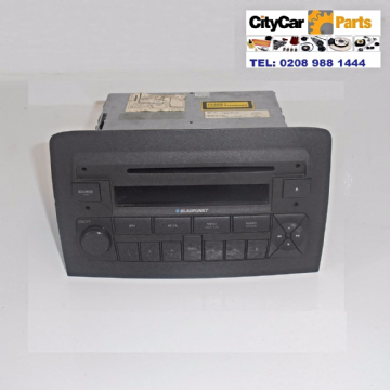 FIAT IDEA MODELS 2004 TO 07 BLAUPUNKT RADIO STEREO CD PLAYER UNIT PLUG AND PLAY